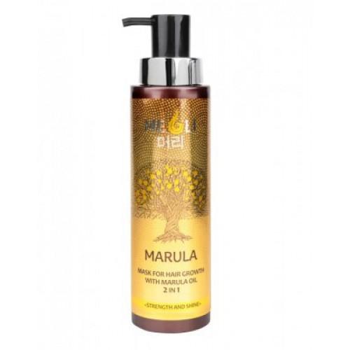 MARULA-Маска для волос сила блеск (400мл)