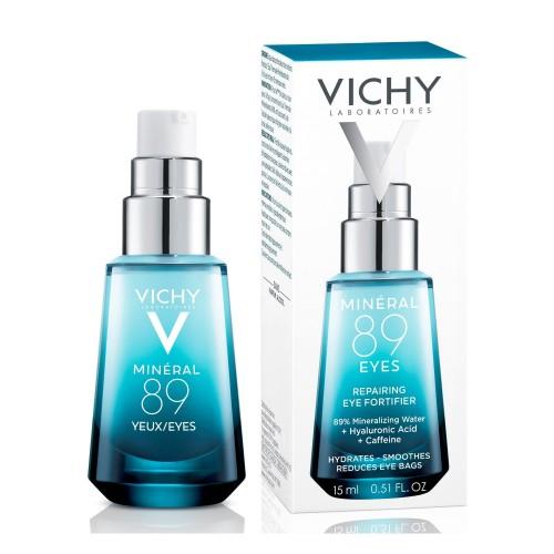 Vichy Mineral 89 гель-сыворотка для контура глаз с гиалуроновой кислотой (15 мл)