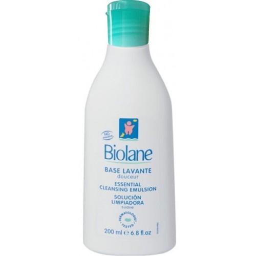 Biolane Основа мягкая моющая для лица и тела крем-мыло (200 мл)