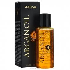 """Kativa Argan Oil Концентрат восстанавливающий защитный  для волос """"4 масла"""" (60 мл)"""