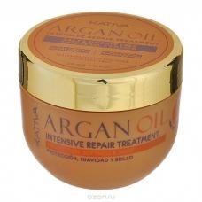 Kativa Argan Oil Маска интенсивно восстанавливающая увлажняющая для волос с маслом (500 мл)