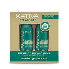 Kativa Colageno Набор коллагеновый шампунь + кондиционер (2х100 мл)