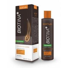 Kativa Biotina Шампунь против выпадения волос с биотином (250 мл)