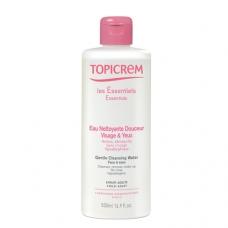 Topicrem Essentials Жидкость мягкая очищающая для лица и области вокруг глаз (500 мл)