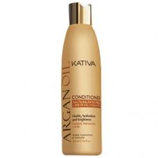 Kativa Argan Oil Кондиционер увлажняющий  для волос с маслом (250 мл)