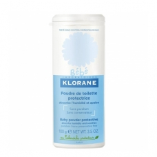 Klorane Bebe Присыпка защитная туалетная с экстрактом Календулы  (100 г)