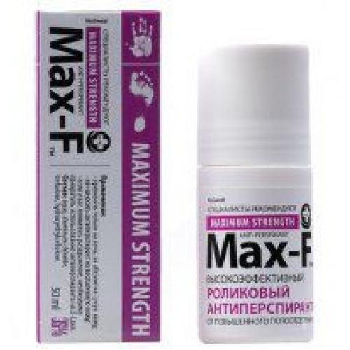 MAX-F 35% Антиперспирант роликовый  (50 мл)