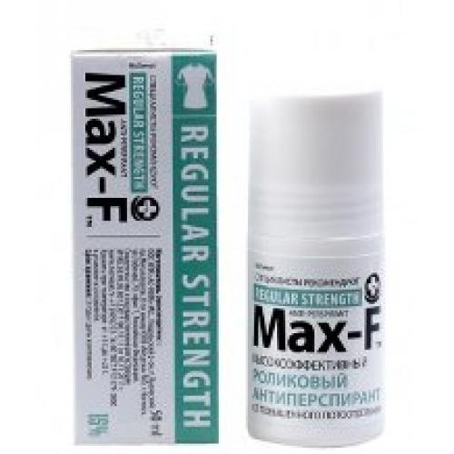 MAX-F 15% Антиперспирант роликовый (50 мл)