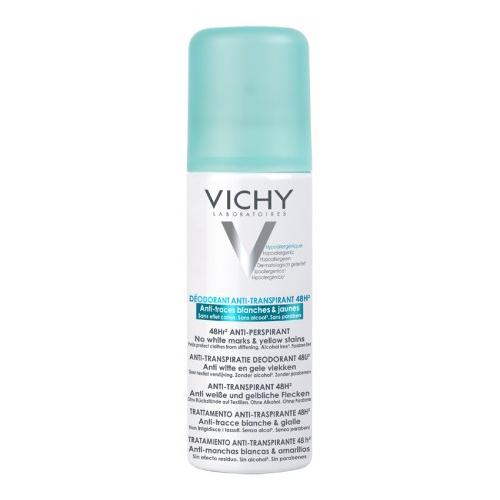 Vichy Дезодорант-антиперспирант спрей 48 часов против белых следов и желтых пятен (125 мл)