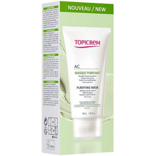 Topicrem AC - Маска очищающая для проблемной кожи (50 мл)