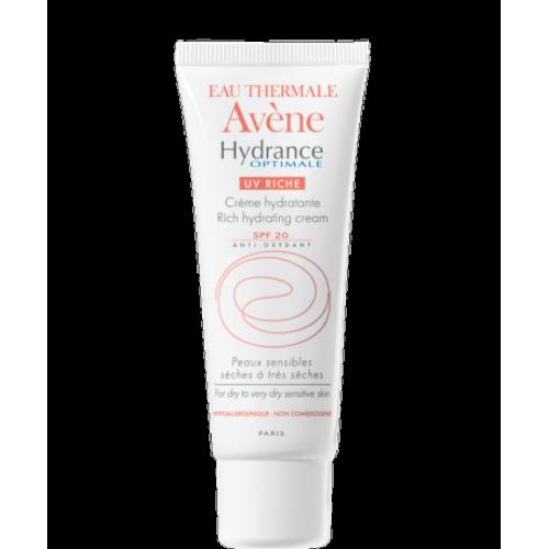 Avene Hydrance Uv Riche Крем увлажняющий защитный для сухой кожи SPF20  (40 мл)