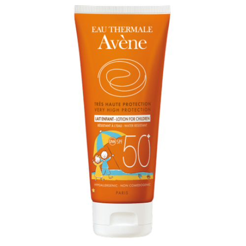 Avene Soins Solaries Молочко солнцезащитное для детей SPF50+ (100 мл)