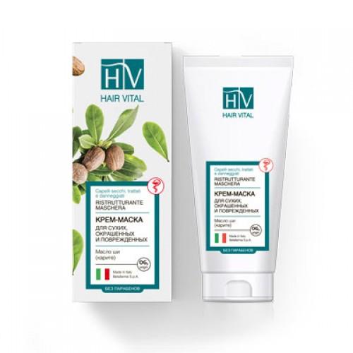 HAIR VITAL Ristrutturante-Крем-маска для сухих и поврежденных волос (150мл)
