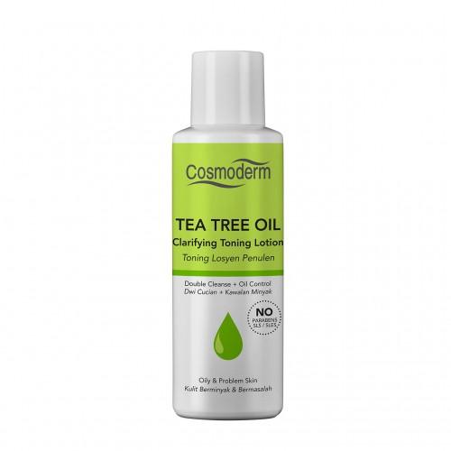Cosmoderm Tea Tree Oil - Очищающий тонизирующий лосьон для лица (100мл)