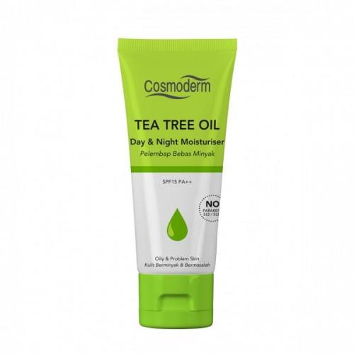 Cosmoderm Tea Tree Oil - Дневной и ночной увлажняющий крем (50мл)