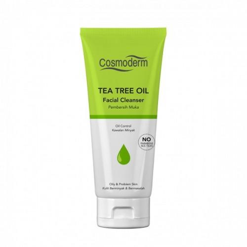Cosmoderm Tea Tree Oil - Очищающая пенка для лица (125мл)