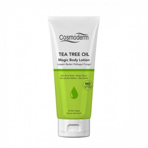 Cosmoderm Tea Tree Oil - Лосьон для тела (125мл)