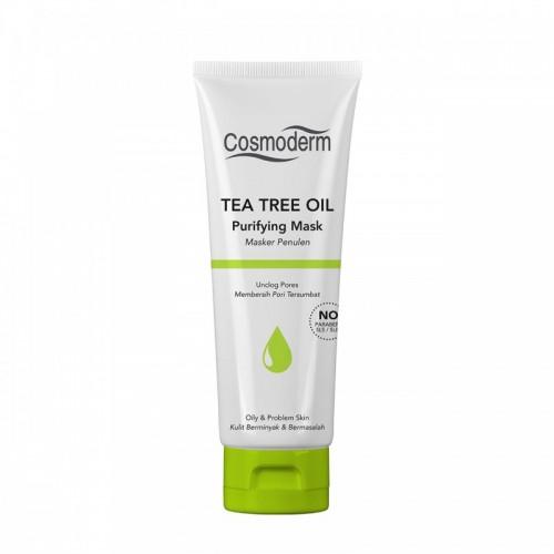 Cosmoderm Tea Tree Oil - Очищающая маска для лица (100мл)
