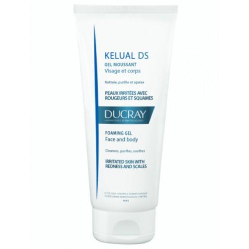 Ducray Kelual DS Пенящийся гель для гигиены кожи при себорейном дерматите (200 мл)