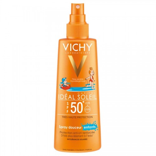 Vichy Capital Soleil - Спрей для детей солнцезащитный SPF50+  (200 мл)
